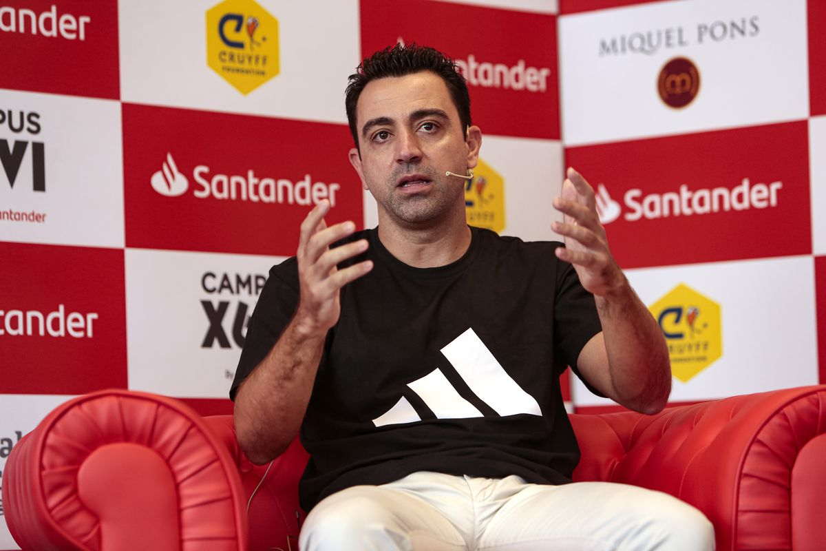 'Campus Xavi Hernández by Santander' Presentation In Barcelona