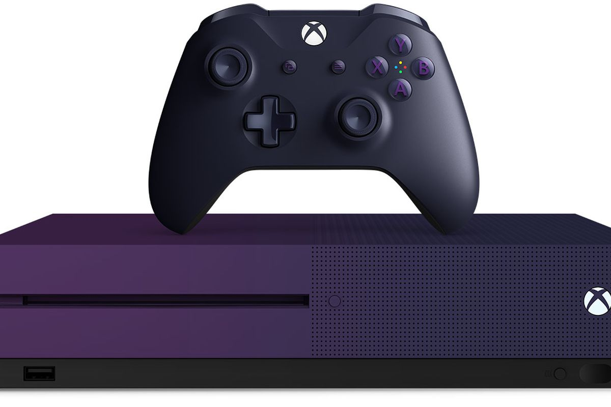 New Fortnite edition purple Xbox One S will go on sale on