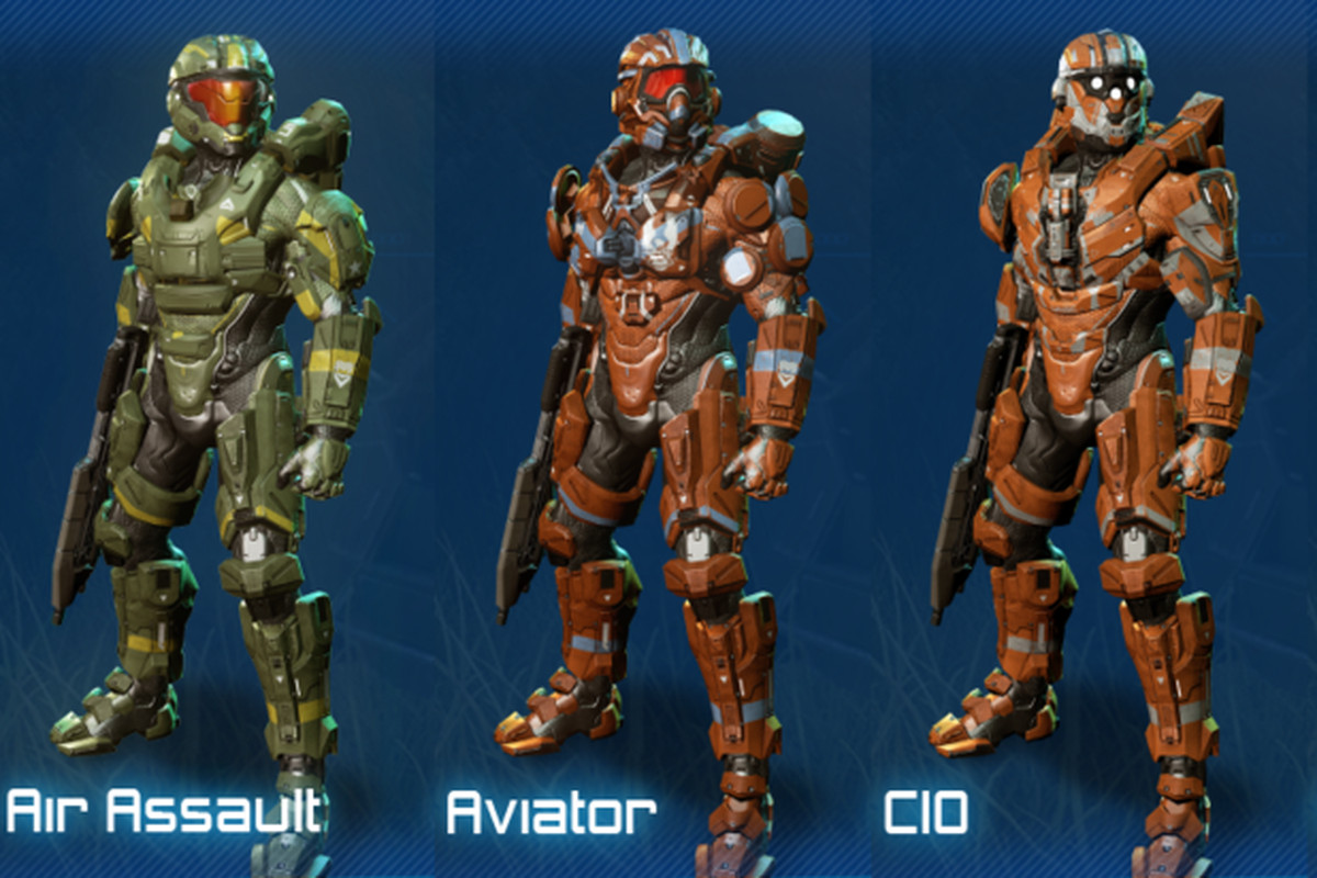 Halo 4 infographic displays all the game's armor in one