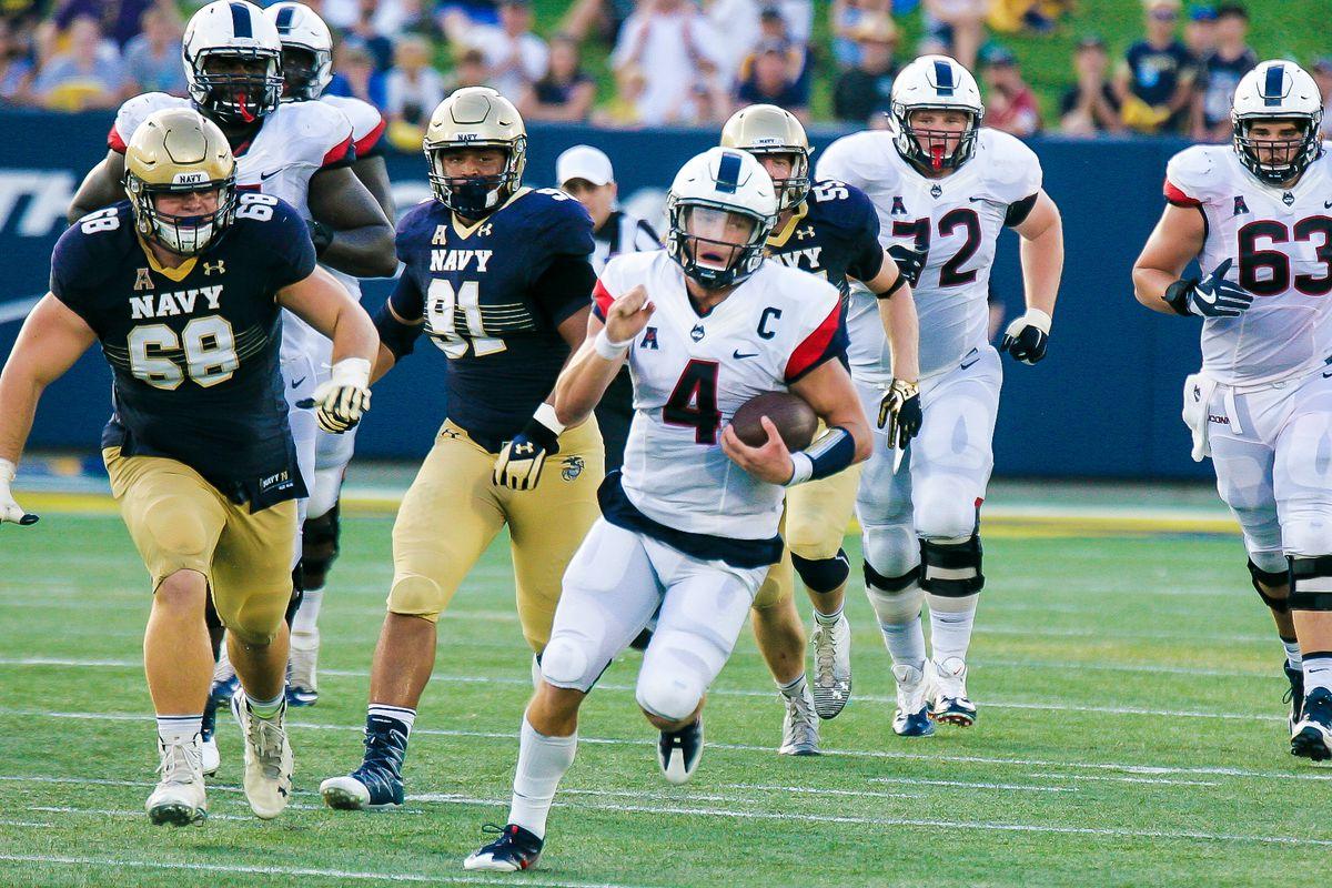 Photos-FB: UConn Huskies @ Navy Midshipmen - 9/10/16
