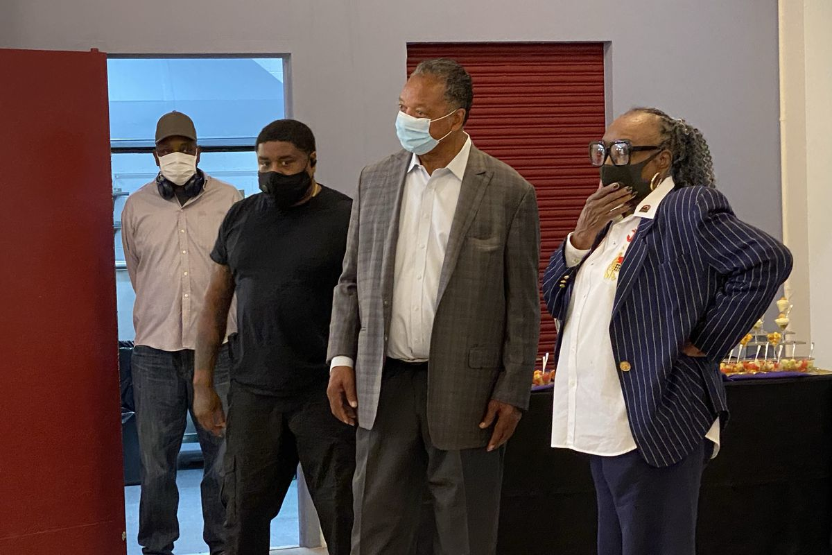 Rev. Jesse Jackson, founder of Rainbow PUSH, met with members of the press at Rainbow PUSH headquarters on Monday to share details of the 55th Annual Convention.