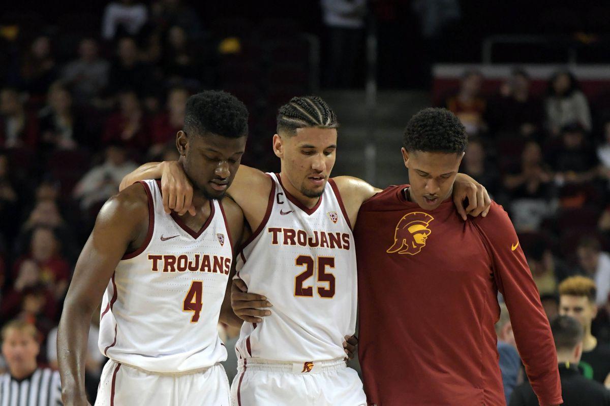 NCAA Basketball: Oregon at Southern California