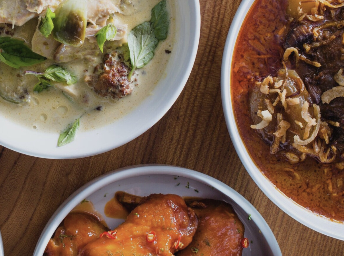 Dishes at Kin Khao Dogpatch