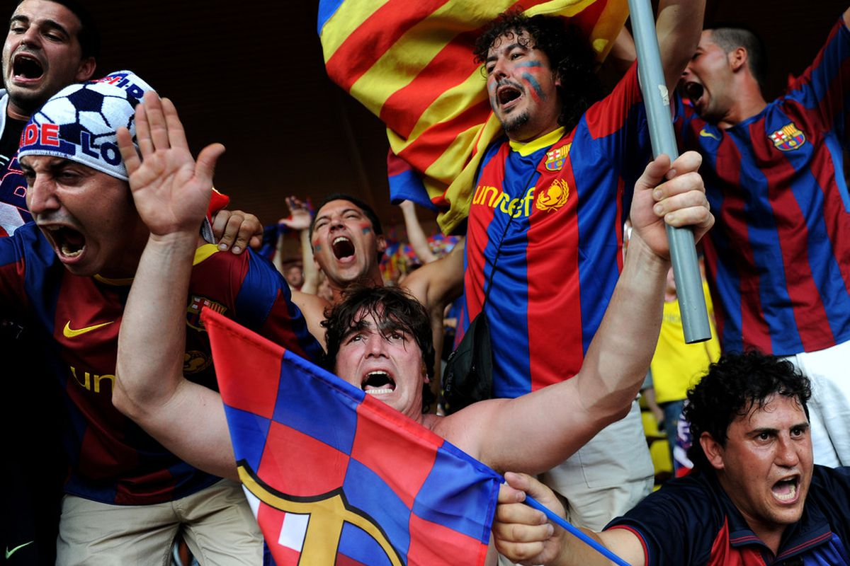 FC Barcelona will be fined for unsportsmanlike behavior of their fans
