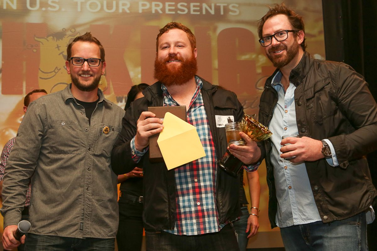 Patrick Williams - winner of Cochon 555 Punch Kings Contest