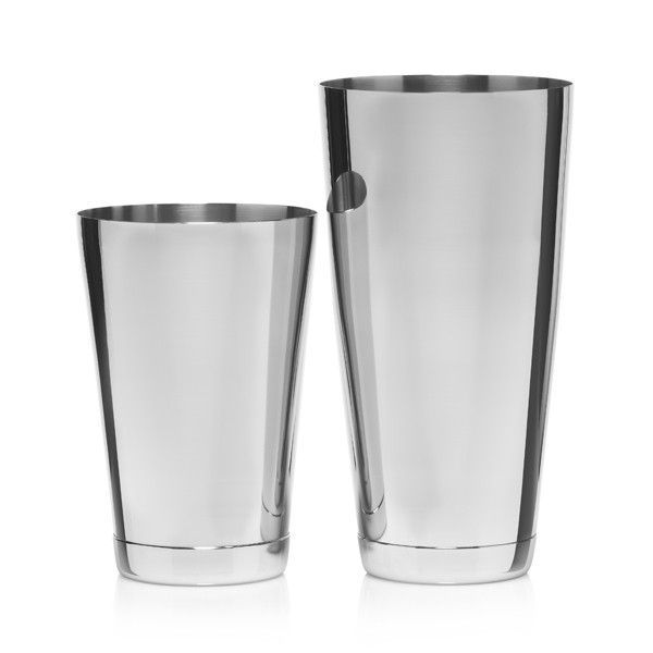 A set of cocktail shakers