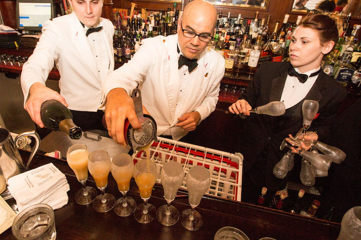 The French 75 Bar keeps it ice cold