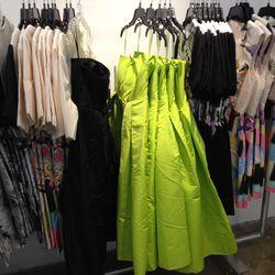Lime ballgown, anyone?