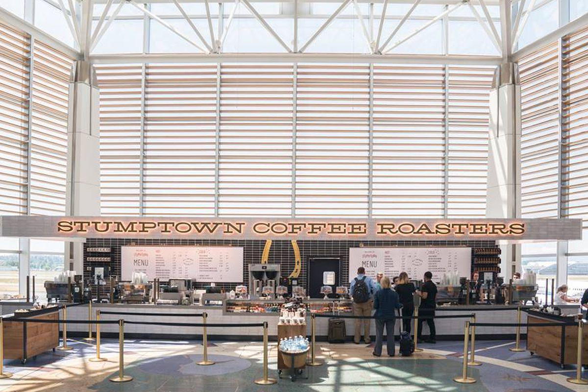 Stumptown's new airport location