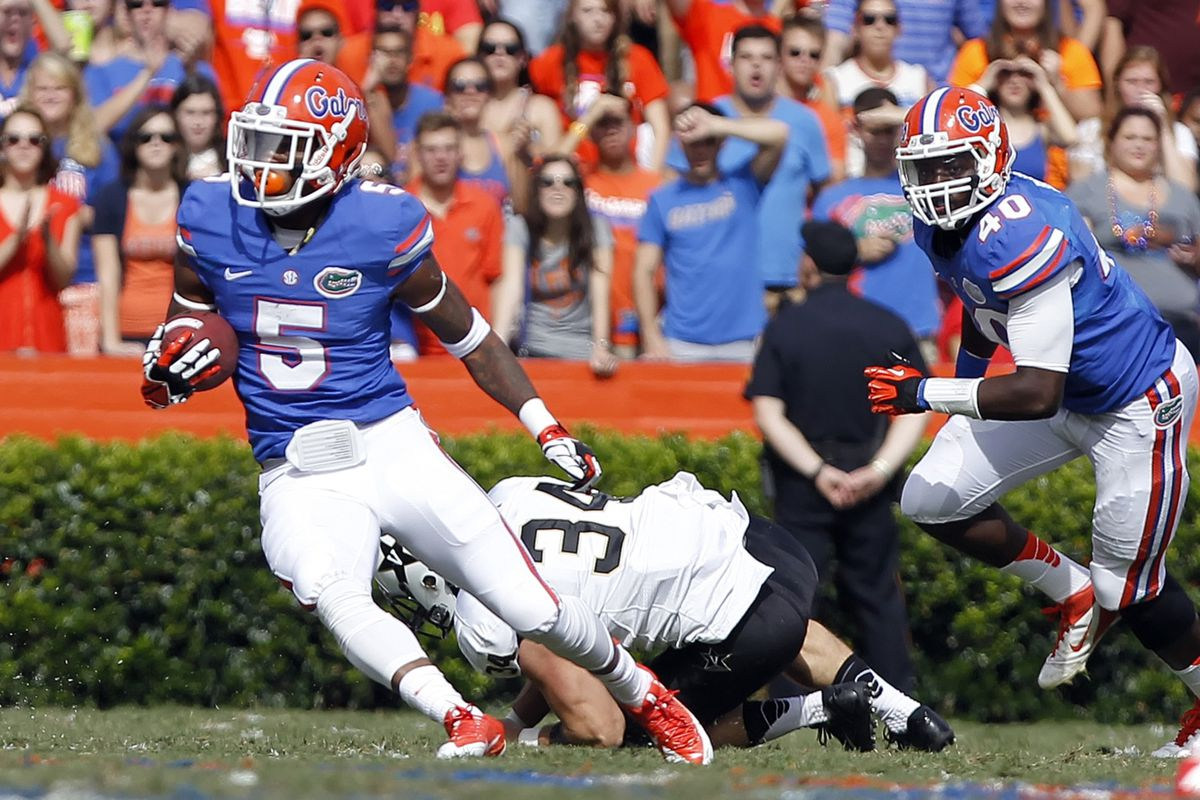 Marcus Roberson has the potential to be a great cornerback in the NFL.