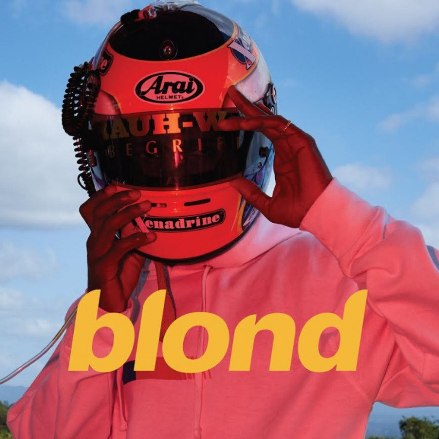 Image result for frank ocean blonde album cover
