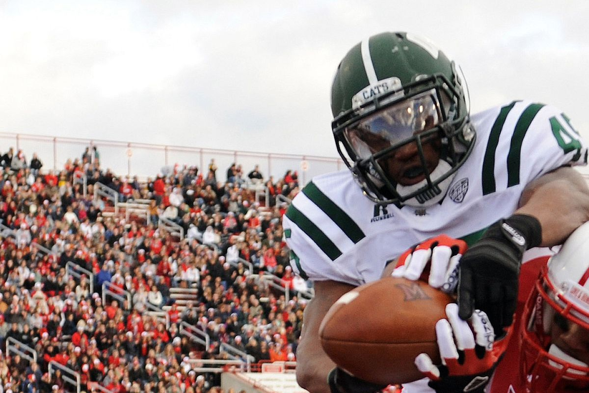 Larenzo Fisher hasn't played for Ohio since 2012, and after being arrested yet again his playing career has been thrown into further jeopardy.
