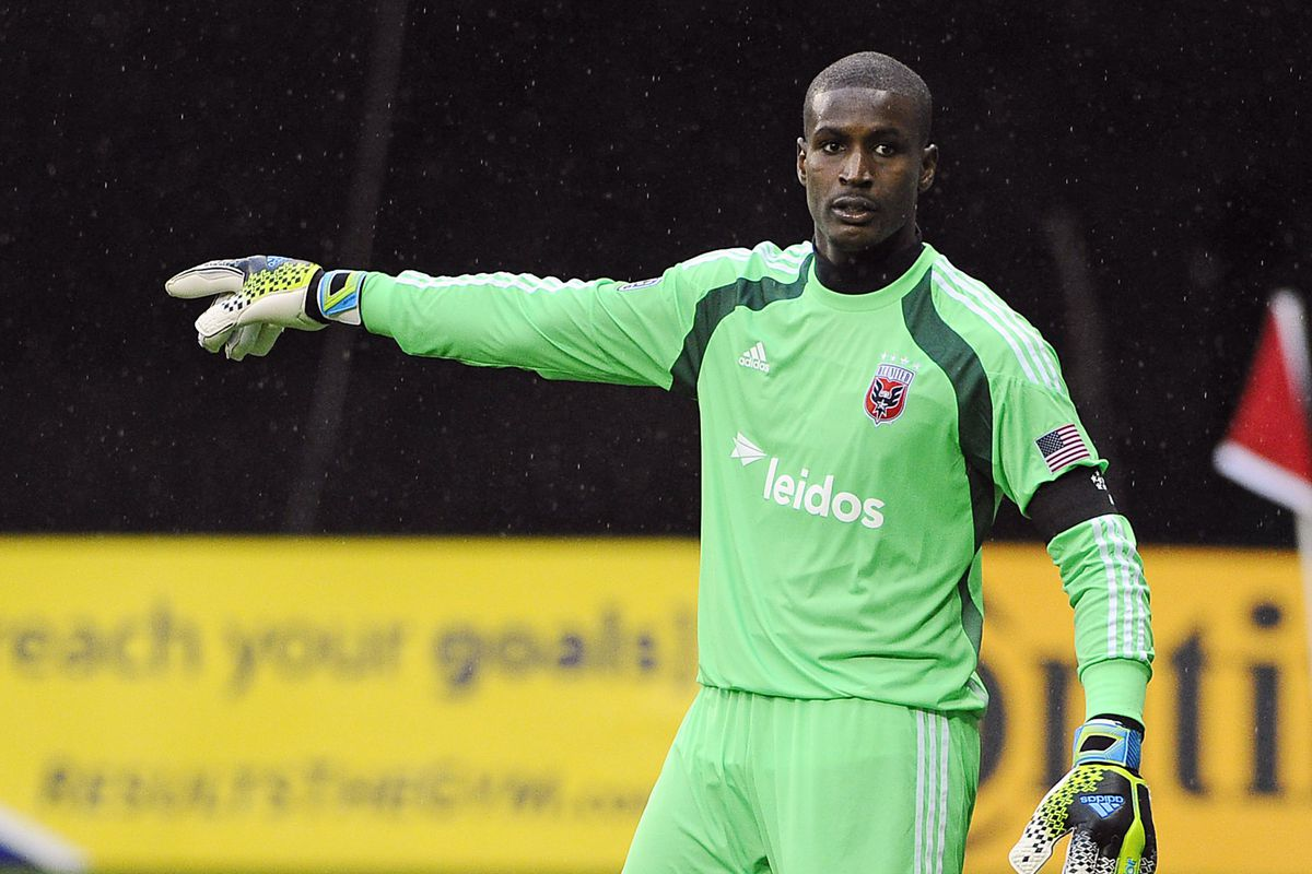 Bill Hamid points to a better DCU month.