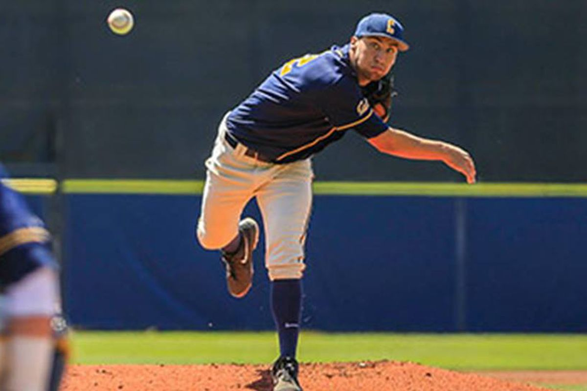 Ryan Mason will look to keep the Aggies inside the ballpark and bring the Bears one step closer to a Regional win.