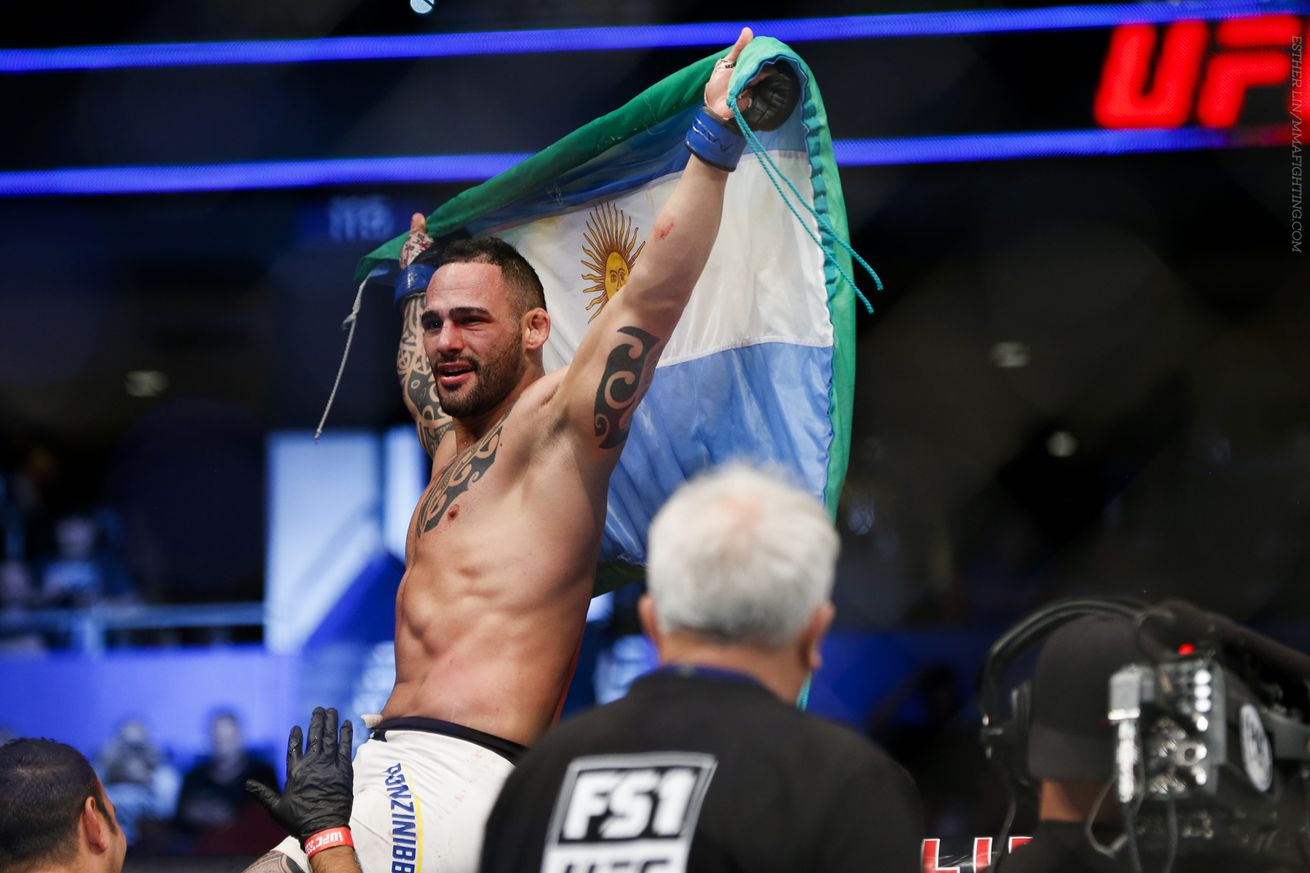 community news, Santiago Ponzinibbio predicts he'll be 'really close' to UFC belt after he KOs Gunnar Nelson