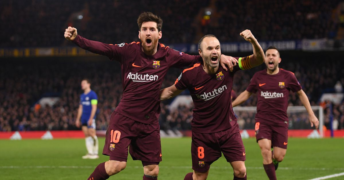 Iniesta returns as Barcelona announce squad for Champions League match against Chelsea