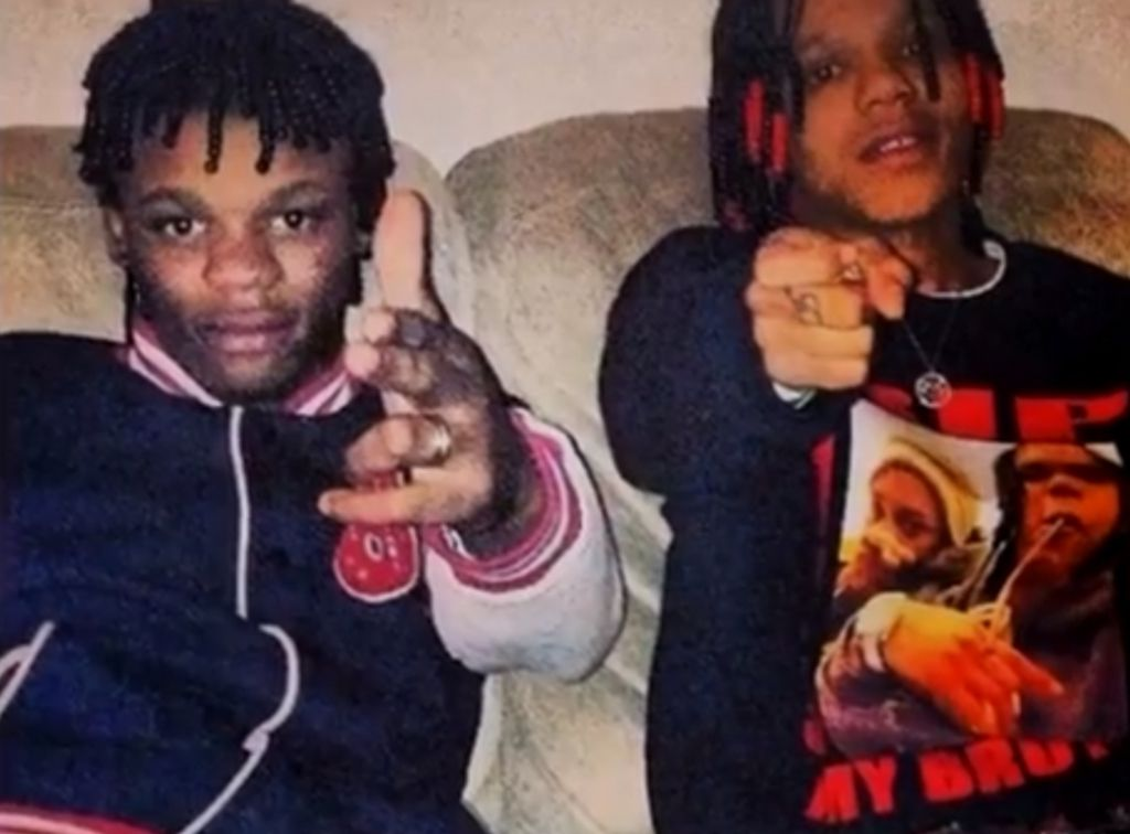 Gakirah Barnes (right) was a reputed female gang assassin.