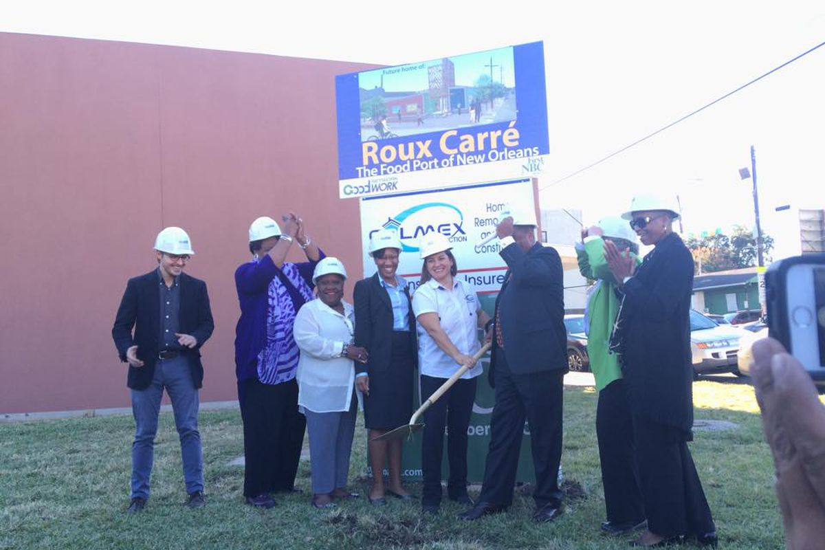Breaking Ground at the Roux Carre