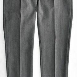 TOPMAN Herringbone Trousers in grey ($120.00)