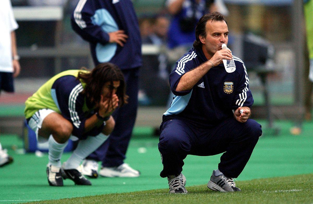 Foot : Sweden - Argentina / World Cup 2002