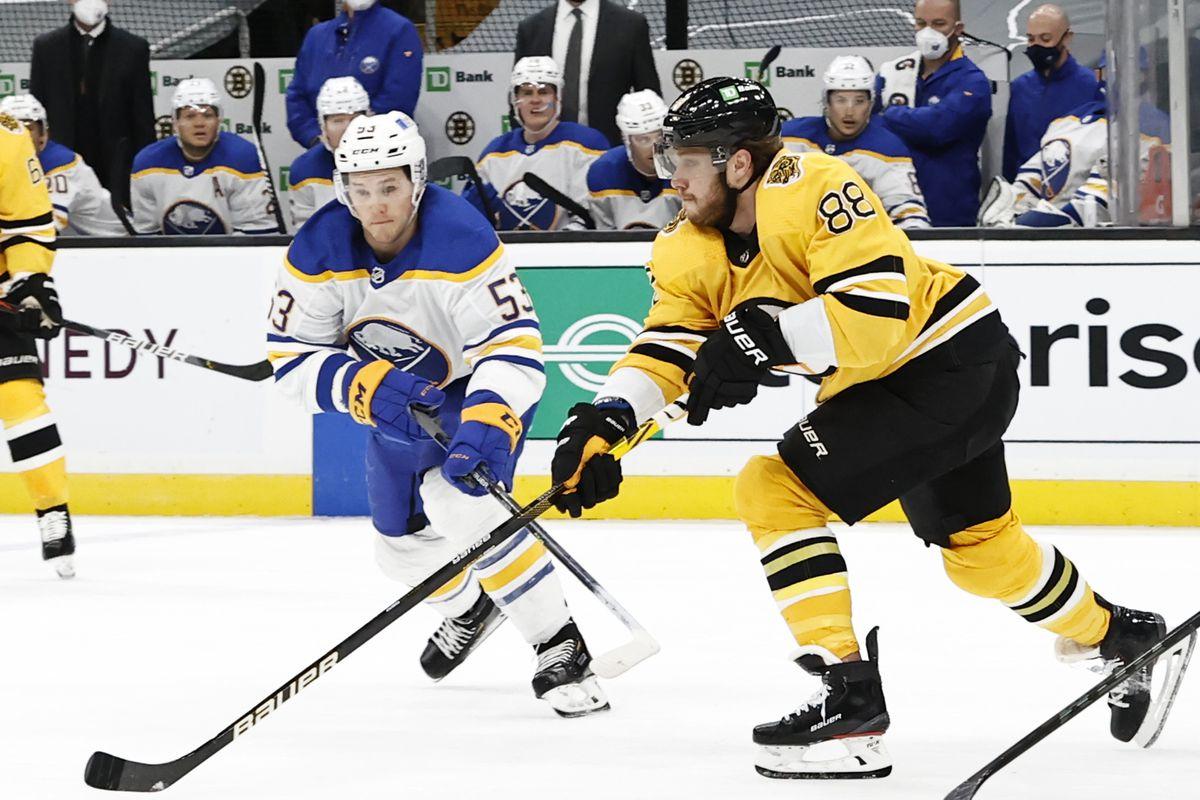 NHL: MAR 27 Sabres at Bruins