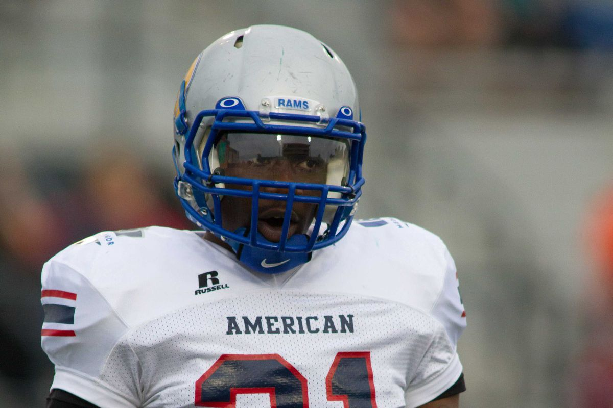 Dexter Moody is one of 17 undrafted free agents hoping to make the Ravens' 53-man roste.r