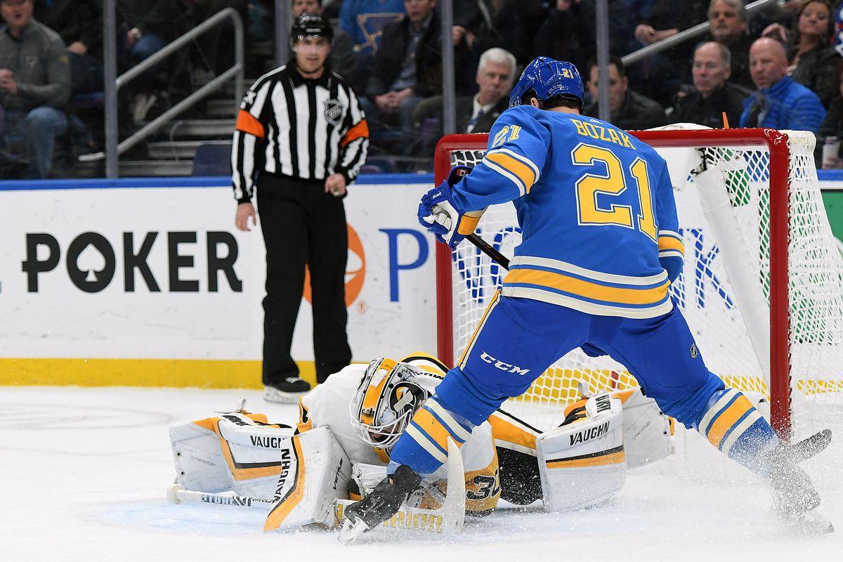 NHL: DEC 29 Penguins at Blues