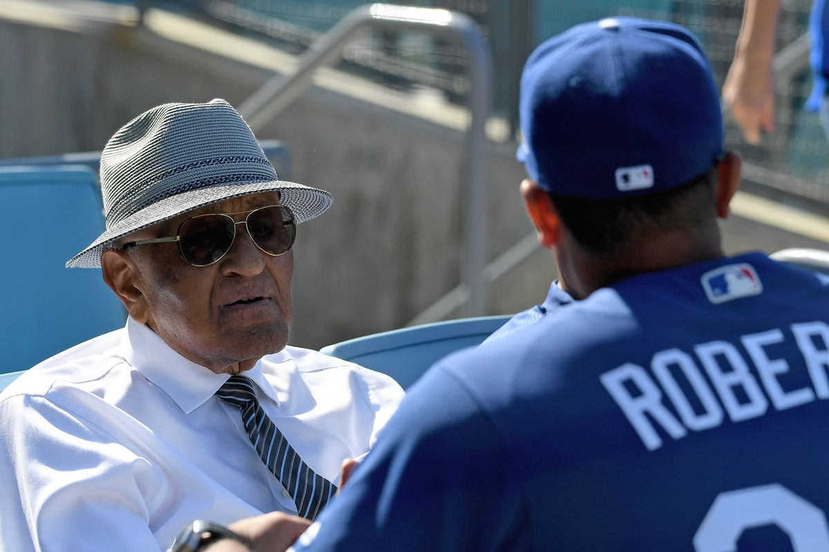 Don Newcombe is always the best-dressed man in the house.