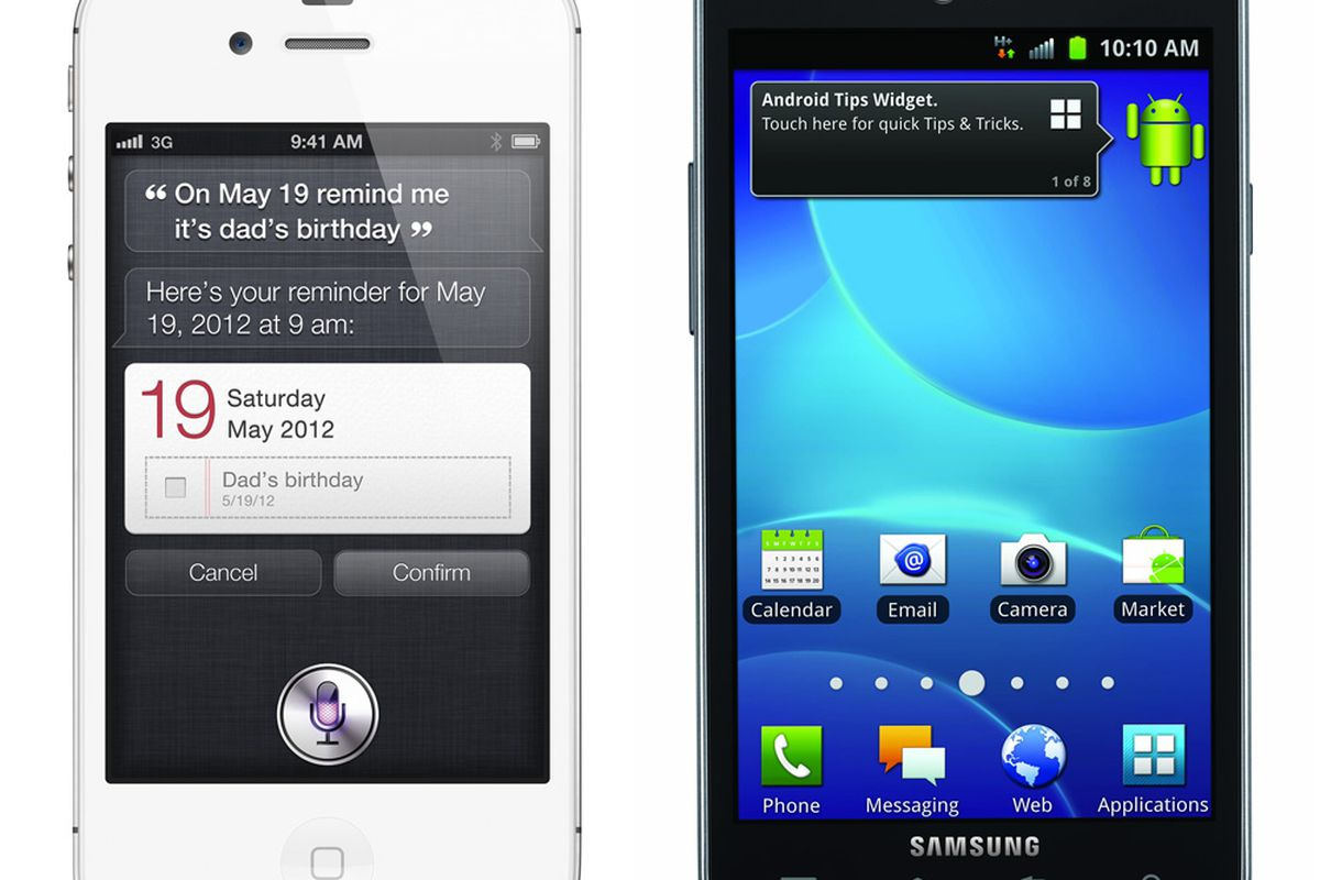 iPhone 4S and AT&T Galaxy S II