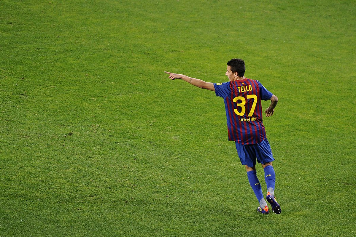 Tello could have a bigger role in the first team next season.