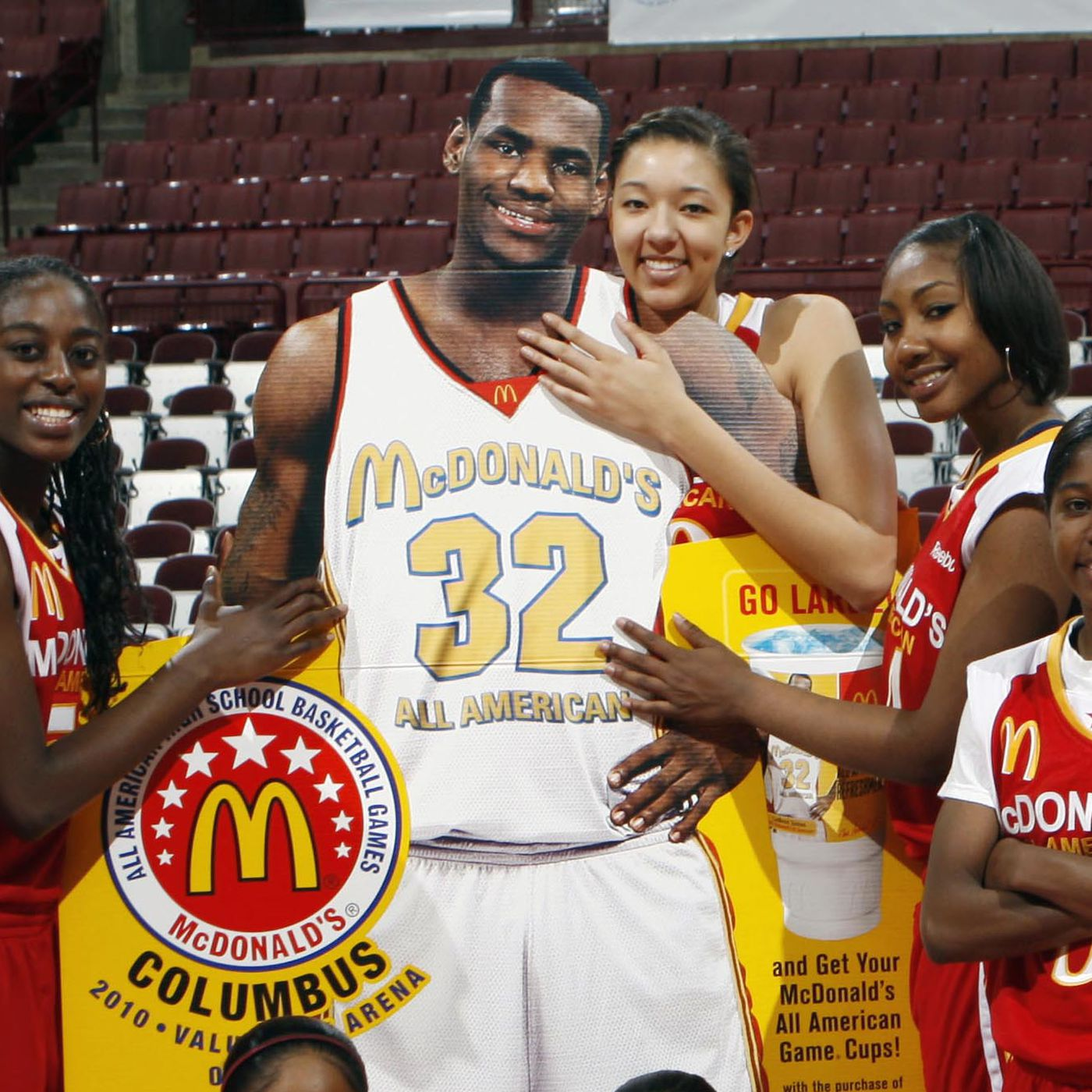 timeless design 5d359 df81f LeBron James disses McDonald's, then remembers they sponsor ...