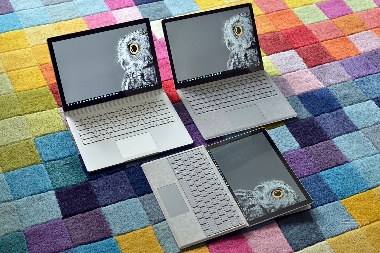 Microsoft's Surface devices