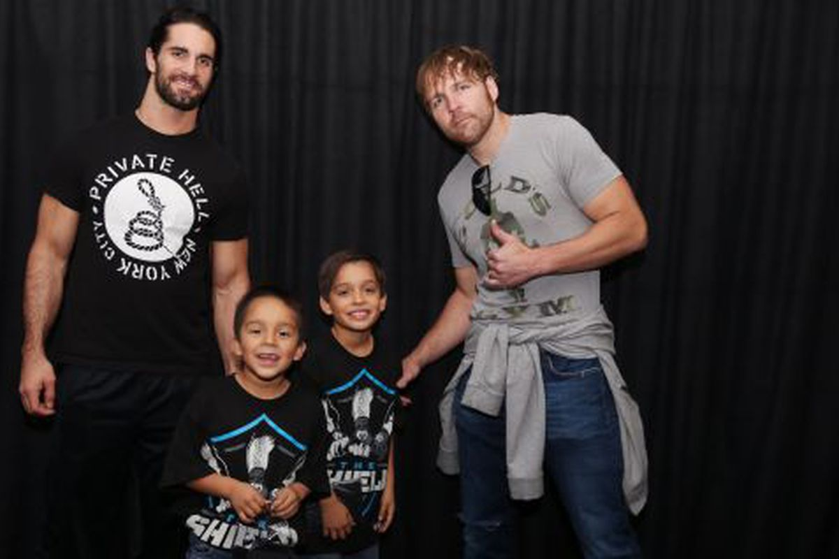 Seth rollins sings and gives dean ambrose cake on his birthday seth rollins sings and gives dean ambrose cake on his birthday m4hsunfo