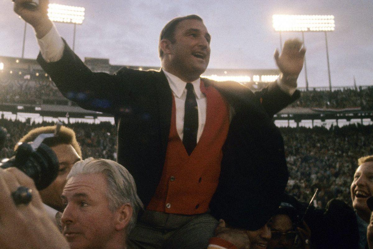 January 11, 1970; Super Bowl IV- Minnesota Vikings v Kansas City Chiefs