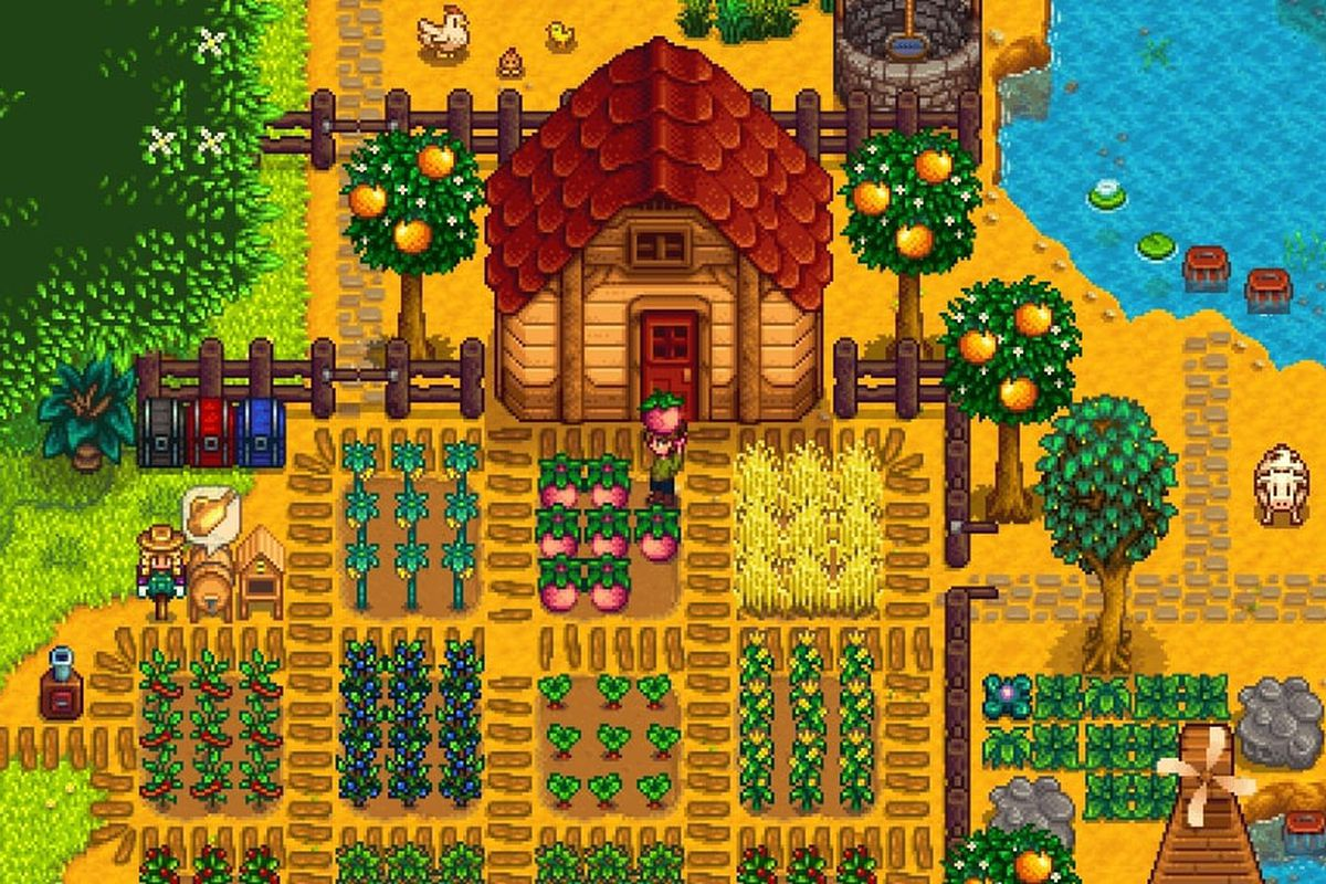 Stardew Valley S Jam Packed 1 5 Update Reminds Us Why It S Our Forever Game The Verge