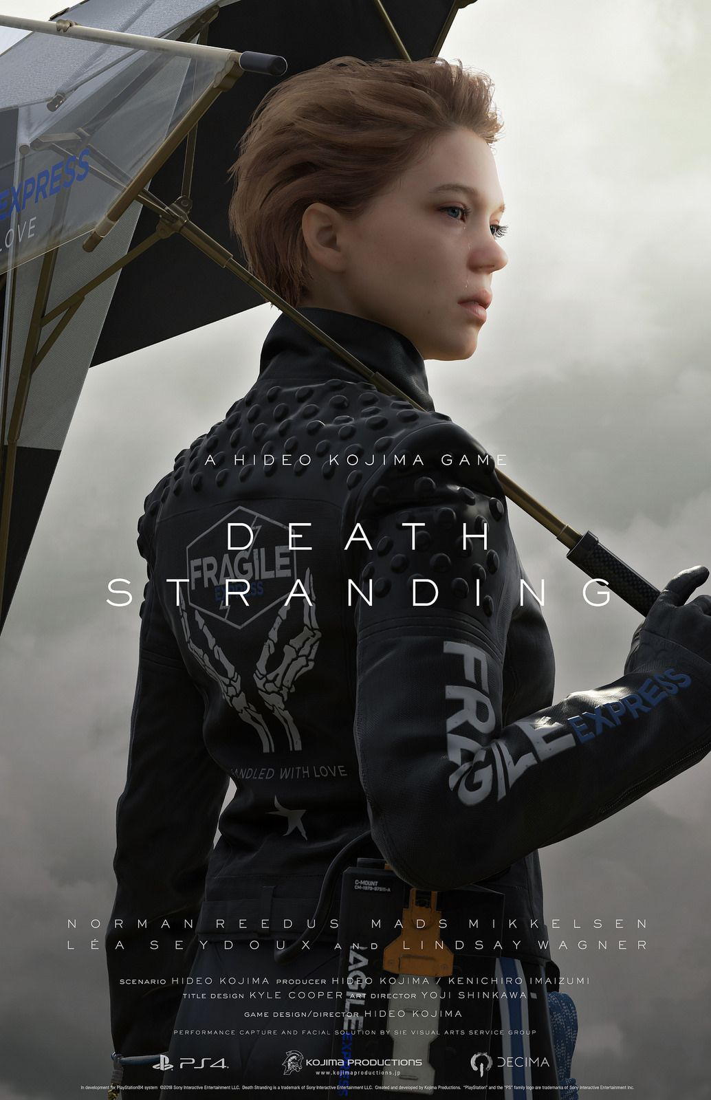 Lea Seydoux character poster - Death Stranding