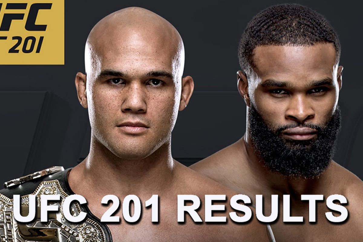 c05b4fb56 UFC 201 live stream results   Lawler vs Woodley  play-by-play updates