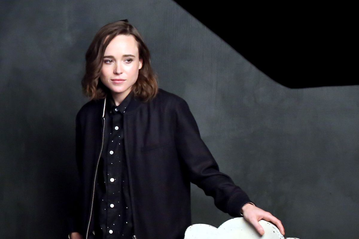 Ellen Page accuses director of outing her when she was young