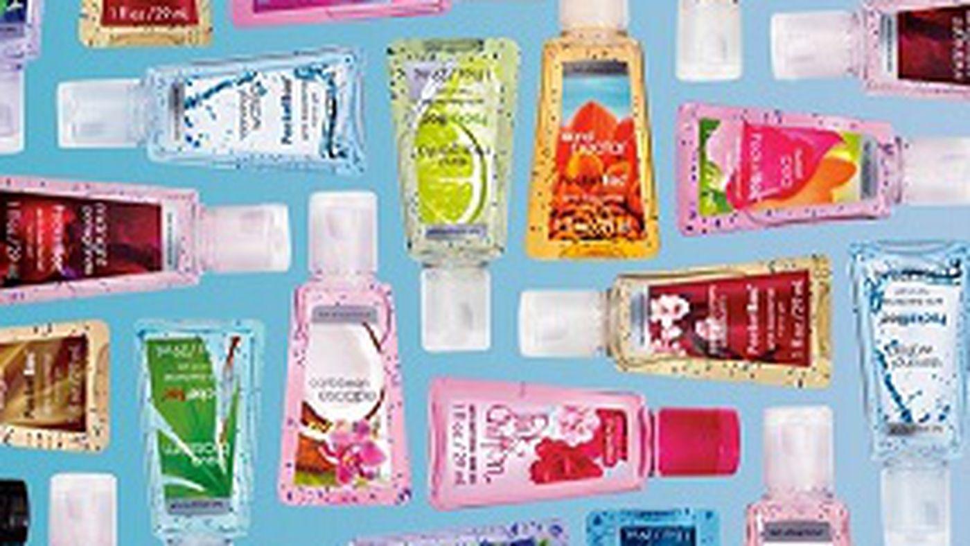 Bath Body Works Nyfws Official Hand Sanitizer Sponsor Racked