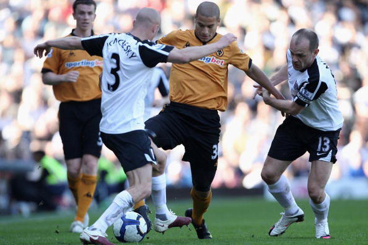 Fulham vs. Wolverhampton  4/17. Photo via Getty Images
