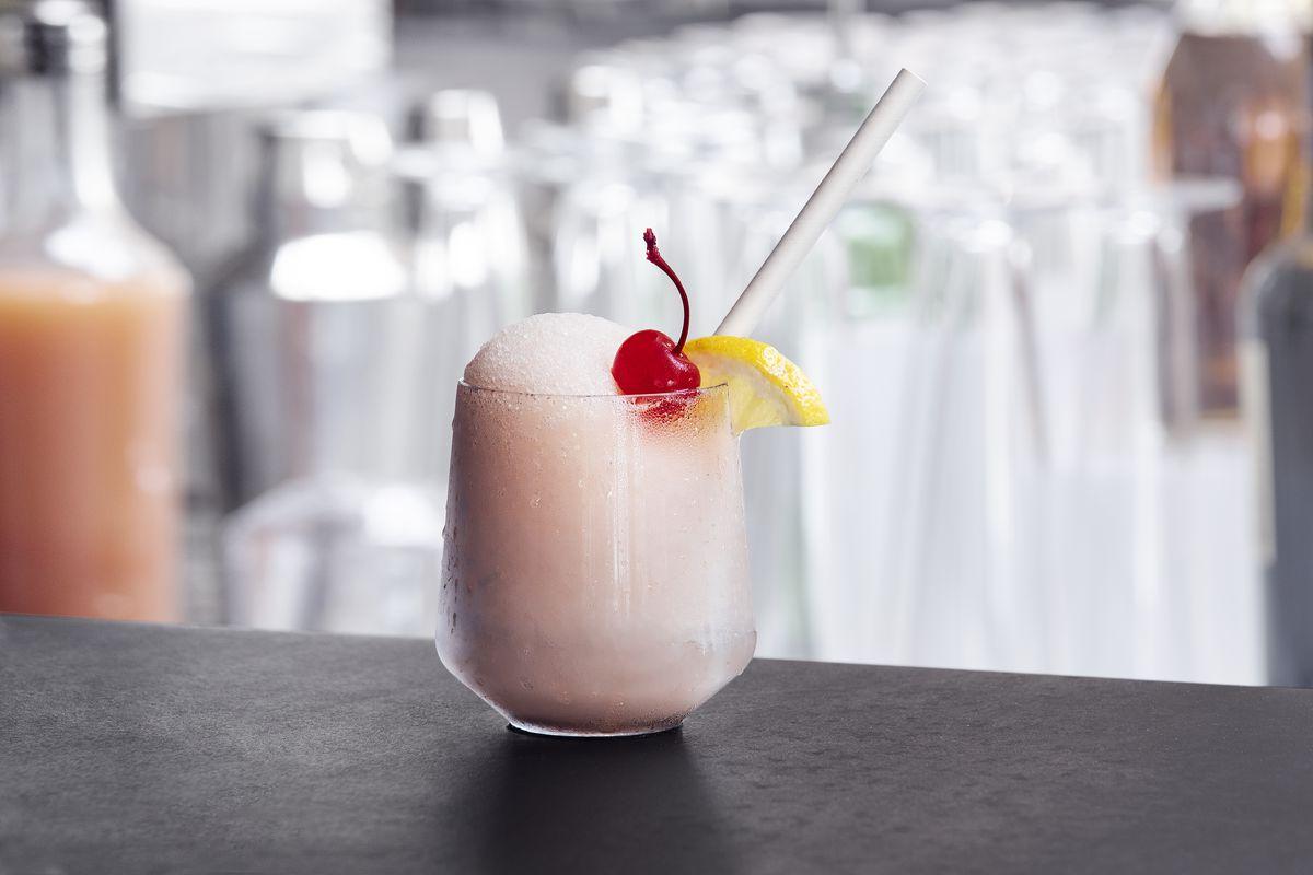 Frosé at Reef Bar