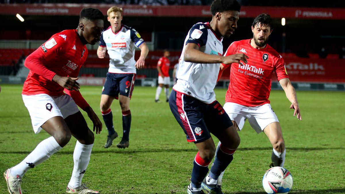 Salford City v Bolton Wanderers - Sky Bet League Two