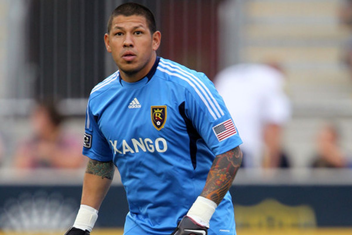 RSL goalkeeper Nick Rimando recently helped the United States win the 2013 CONCACAF Gold Cup