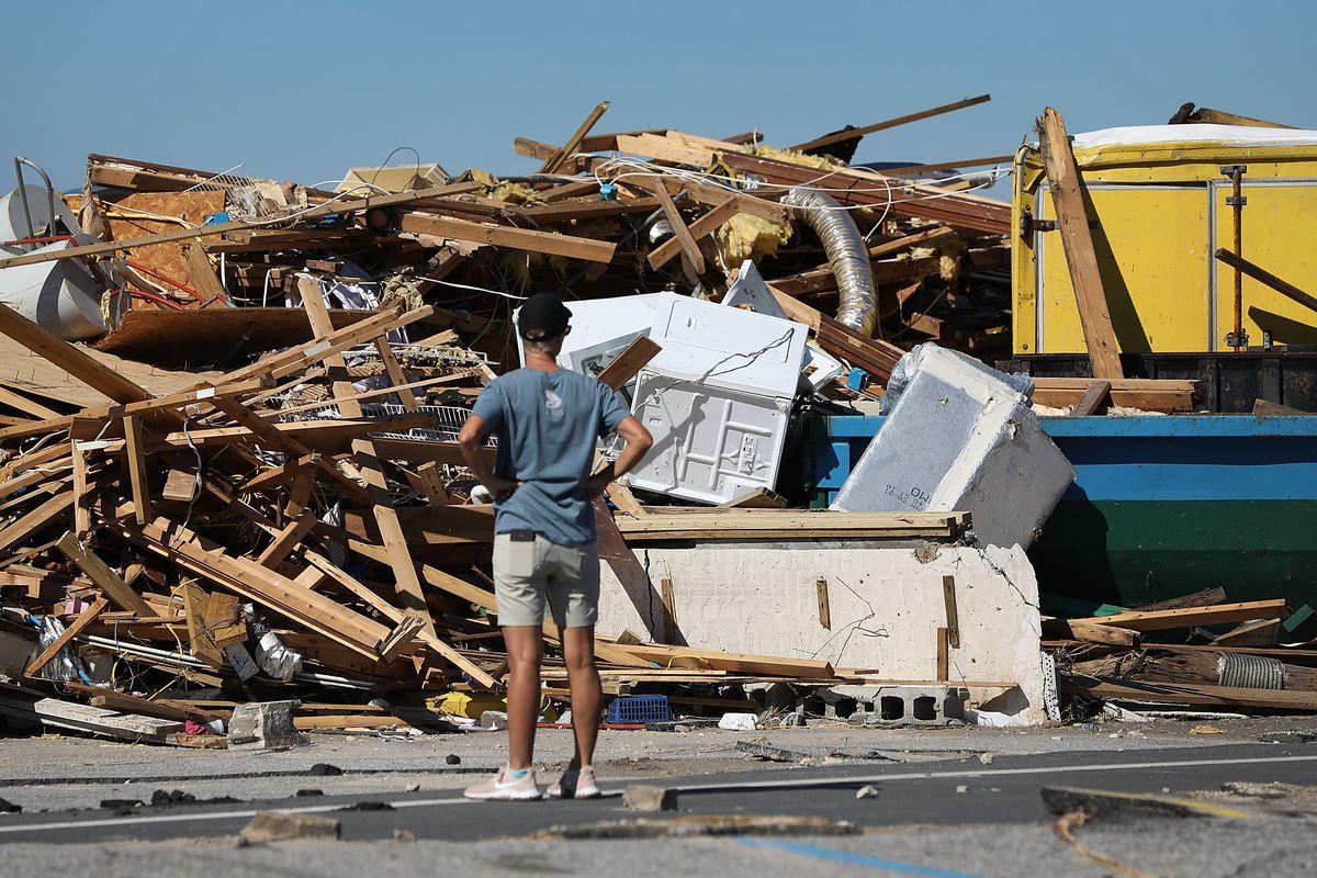 Florida Panhandle Faces Major Destruction After Hurricane Michael Hits As Category 4 Storm