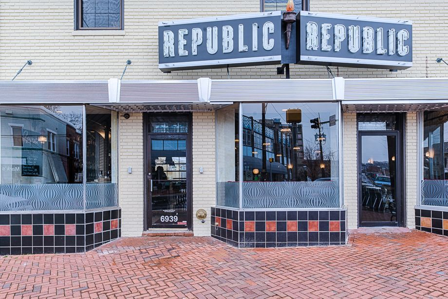 The entrance to Republic.