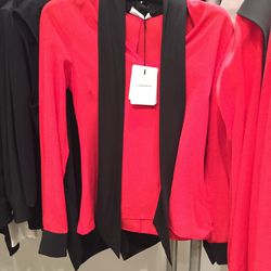 Blouse with neck tie, price not marked