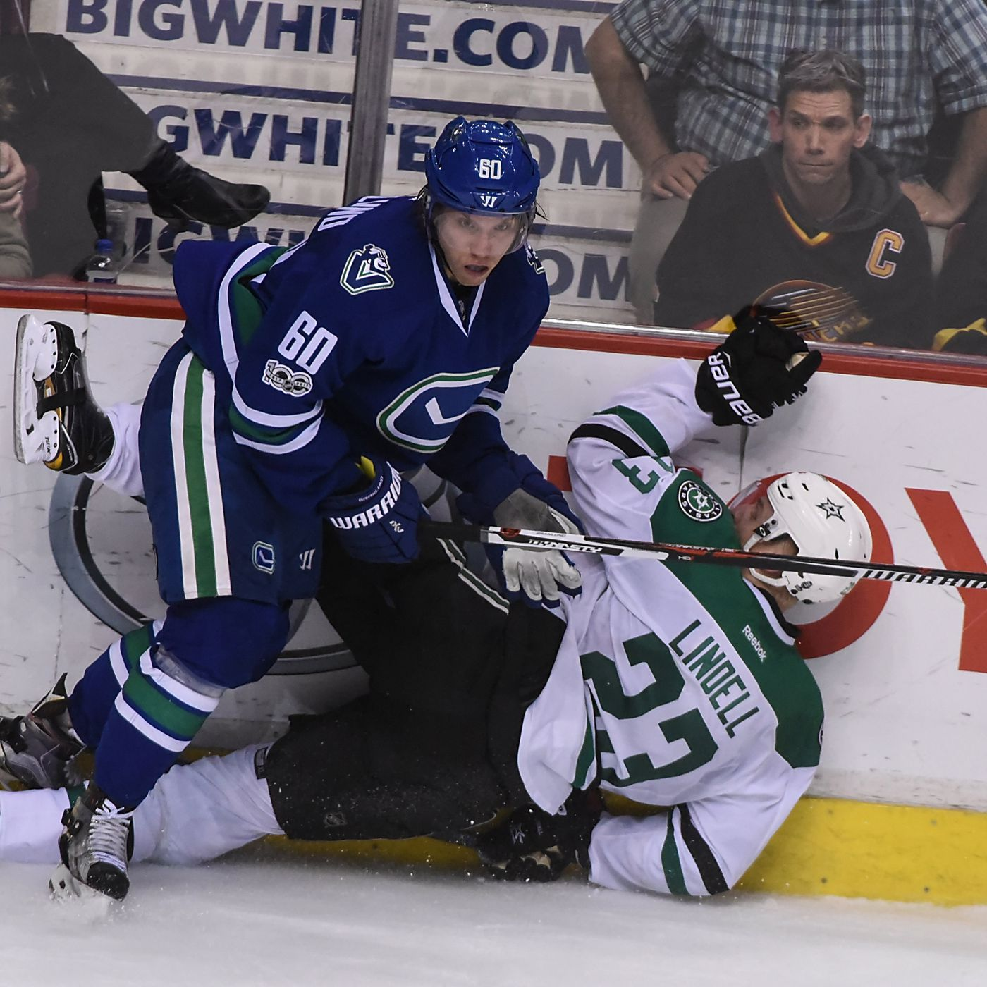 wholesale dealer 6a8b3 fac3c GAME DAY PREVIEW: Vancouver Canucks vs. Dallas Stars - Oct ...