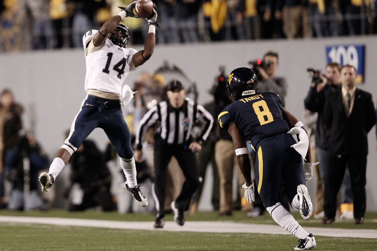 Can Pitt football win the Big East in 2012? (Photo by Jared Wickerham/Getty Images)