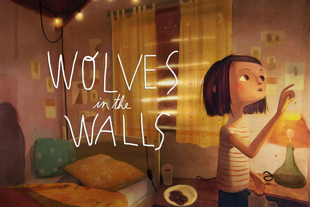 wolves in the walls is a virtual friendship wrapped in a detective story