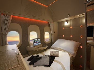 Emirates unveils super fancy private suits with virtual windows
